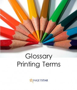 Printing terms glossary