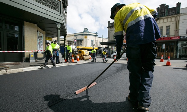 Environmentally friendly street paving