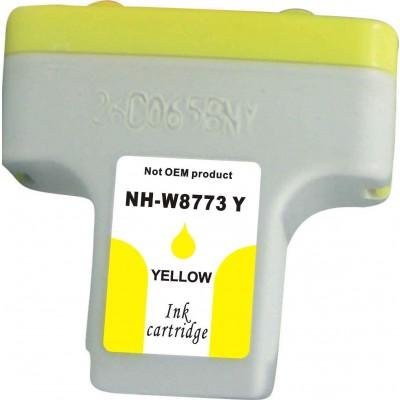 Remanufactured HP C8773WN (#02) high yield yellow ink cartridge