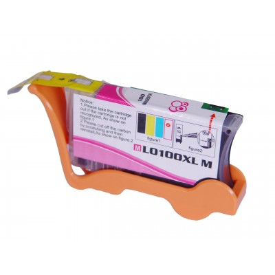 Compatible Lexmark 14N1070 (No. 100XL) high yield magenta ink cartridge