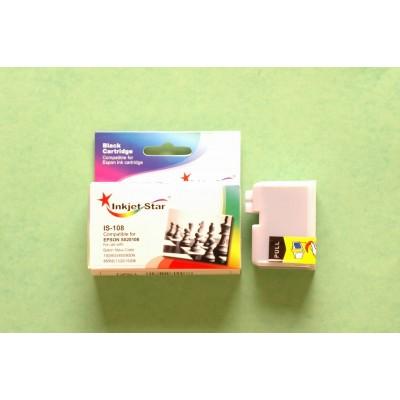 Compatible Epson S020108 black inkjet cartridge