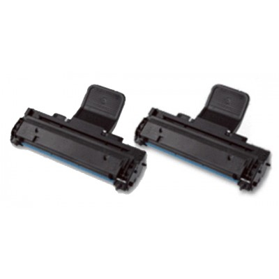 Compatible alternative to Samsung MLT-108S black laser toner cartridge (2 pieces)