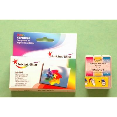 Compatible Epson S020191 color inkjet cartridge