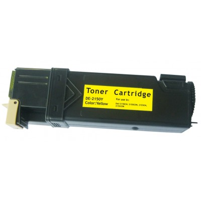 Compatible Dell 331-0719 (Dell 2150/2155) high yield yellow laser toner cartridge