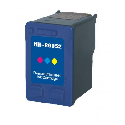 Remanufactured HP C9352A (No. 22) color ink cartridge