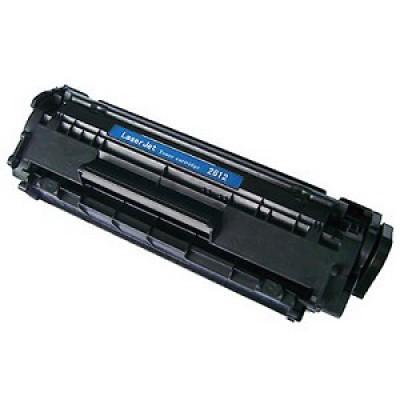 Compatible HP Q2612A (HP 12A) black laser toner cartridge