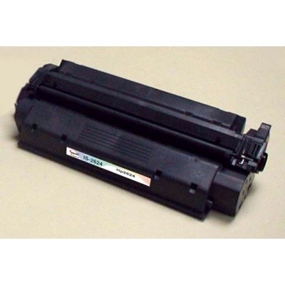 Remanufactured HP Q2624X (HP 24X) black laser toner cartridge (2 pieces)