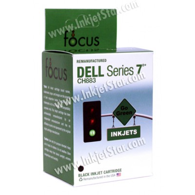 Remanufactured Dell GR274 (Series 7) high capacity black ink cartridge