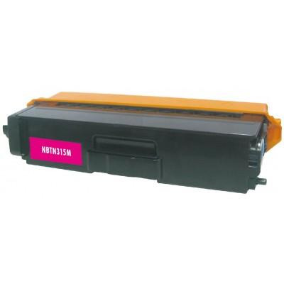 Compatible Brother TN315M high yield (replacing TN310M standard yield) magenta laser toner cartridge