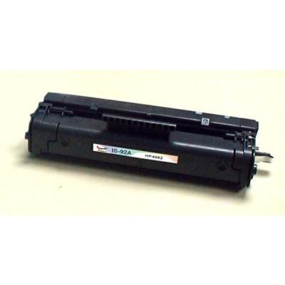 Remanufactured HP C4092A (HP 92A) black laser toner cartridge