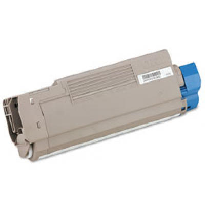 Compatible Okidata 43324403 cyan laser toner cartridge