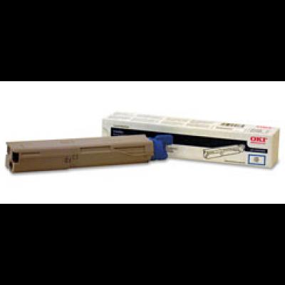 Compatible Okidata 43459303 cyan laser toner cartridge