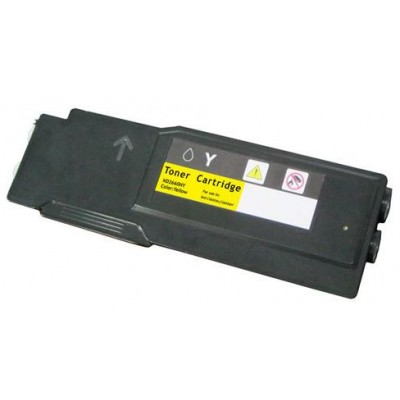 Compatible Dell 593-BBBR (YR3W3) Yellow laser toner cartridge