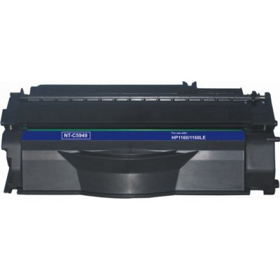 Remanufactured HP Q5949A (HP 49A) black laser toner cartridge