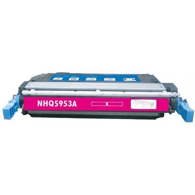 Remanufactured HP Q5953A (HP 643A) magenta laser toner cartridge