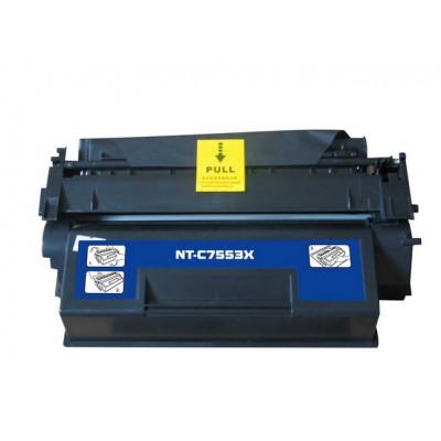 Compatible HP Q7553X (HP 53X) high yield black laser toner cartridge