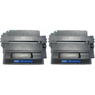 Compatible HP Q6511A (HP 11A) black laser toner cartridge (2 pieces)