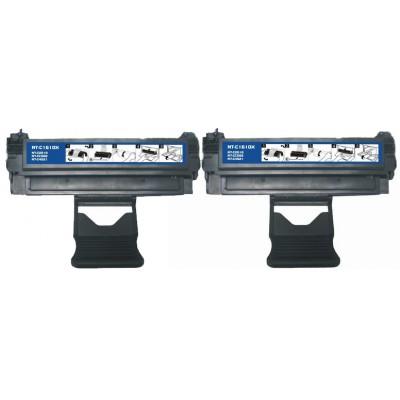 Compatible alternative to Samsung ML1610D2 black laser toner cartridge (2 pieces)
