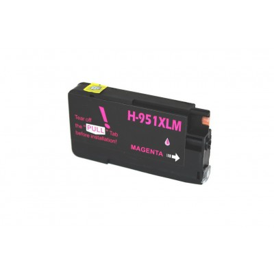 Remanufactured HP CN047AN (951XL) high yield magenta ink cartridge
