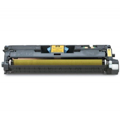 Remanufactured HP C9702A (HP 121A) yellow laser toner cartridge