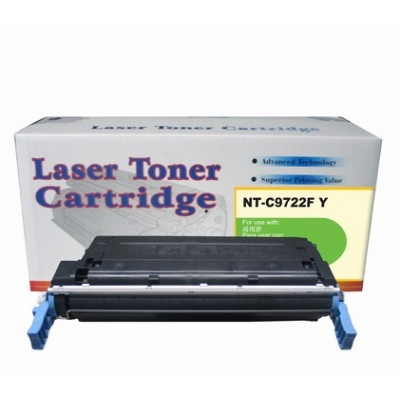 Remanufactured HP C9722A (HP 641A) yellow laser toner cartridge