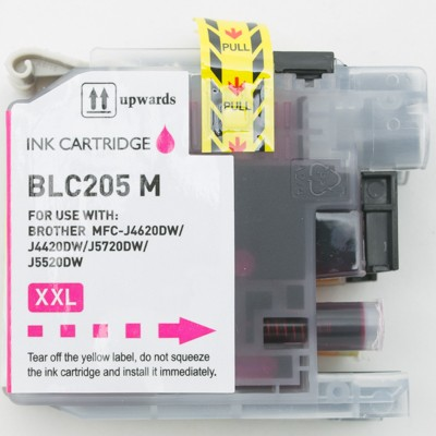 Compatible Brother LC205M Super High Yield Magenta ink cartridge