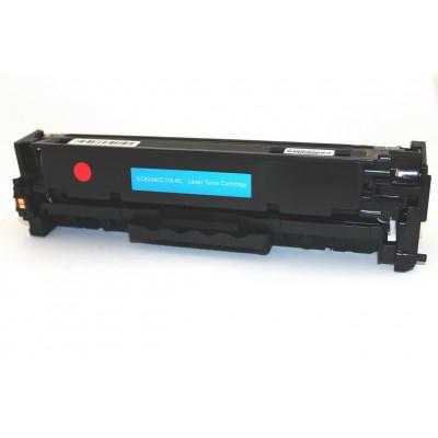 Remanufactured Canon 118 magenta laser toner cartridge