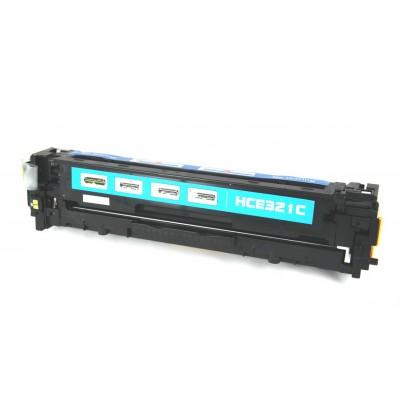 Remanufactured HP CE321A (HP 128A) cyan laser toner cartridge