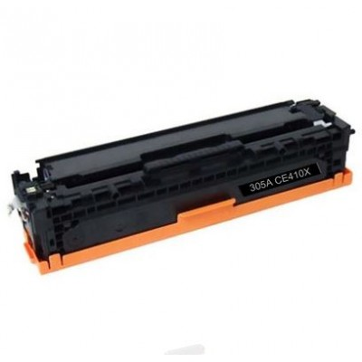 Remanufactured HP CE410X (HP 305X) high yield black laser toner cartridge