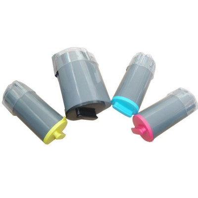 Compatible alternative to Samsung laser toner cartridges: 1 CLP K350A black, 1 CLP C350A cyan, 1 CLP M350A magenta and 1 CLP Y350A yellow combo set