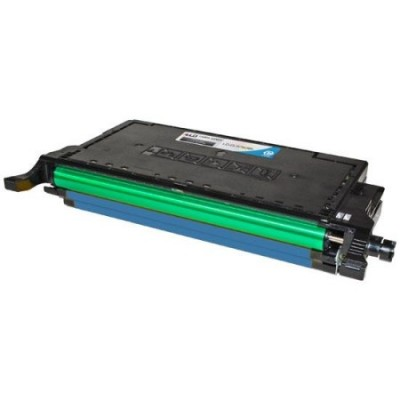 Compatible alternative CLT-C508L high yield cyan laser toner cartridge for Samsung CLP-620, CLP-670, CLX-6220 & CLX-6250 printers