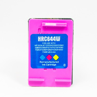 Remanufactured HP CC644WN (HP 60XL) high yield color ink cartridge
