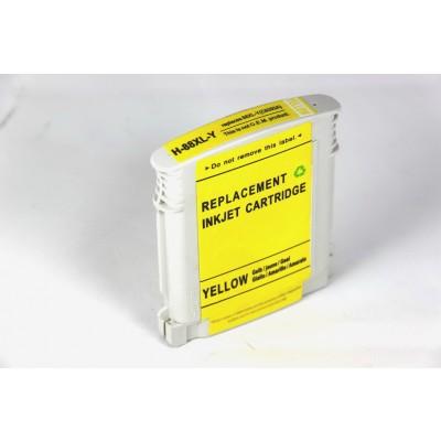 Remanufactured HP C9393AN (HP 88XL) high yield yellow ink cartridge