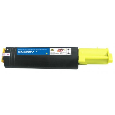 Compatible Dell 310-5729 (K5361) high yield yellow laser toner cartridge