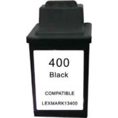 Remanufactured Lexmark 13400(HC) black ink cartridge