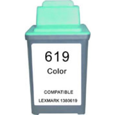 Remanufactured Lexmark 13619(HC) color ink cartridge