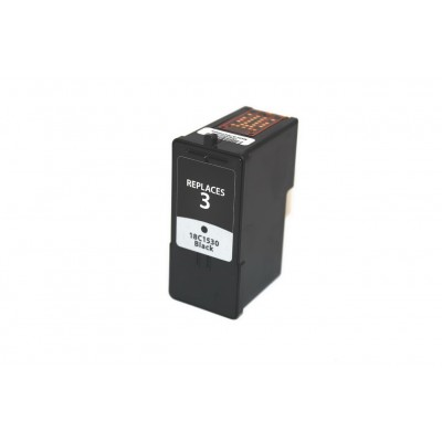 Remanufactured Lexmark 18C1530 (No. 3) black ink cartridge