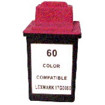 Remanufactured Lexmark 17G0060 (No. 60) color ink cartridge