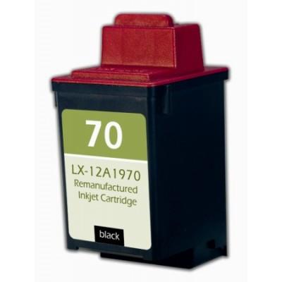 Remanufactured Lexmark 12A1970 (No. 70) black ink cartridge