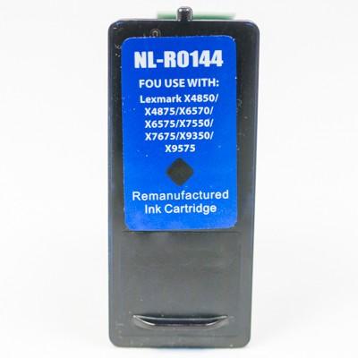 Remanufactured Lexmark 18Y0144 (No. 44) high yield black ink cartridge
