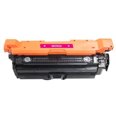 Remanufactured HP CF033A (HP 646A) magenta laser toner cartridge