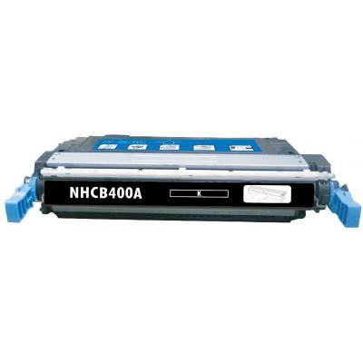 Remanufactured HP CE400A (HP 507A) black laser toner cartridge