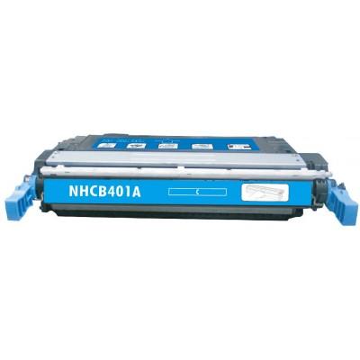 Remanufactured HP CE401A (HP 507A) cyan laser toner cartridge