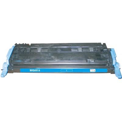 Remanufactured HP Q6001A (HP 124A) cyan laser toner cartridge