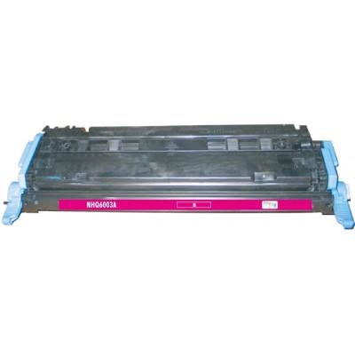 Remanufactured HP Q6003A (HP 124A) magenta laser toner cartridge