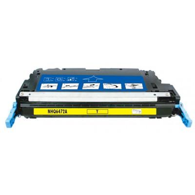 Remanufactured HP Q6472A (HP 502A) yellow laser toner cartridge