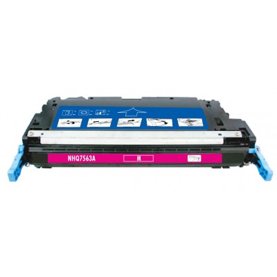 Remanufactured HP Q7563A (HP 314A) magenta laser toner cartridge