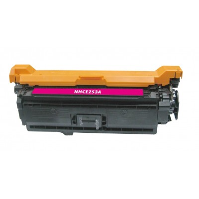 Compatible HP CE253A (HP 504A) magenta laser toner cartridge