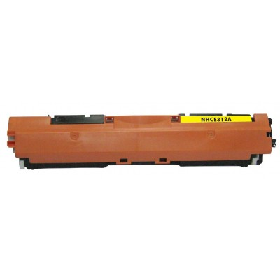 Compatible HP CE312A (HP 126A) yellow laser toner cartridge