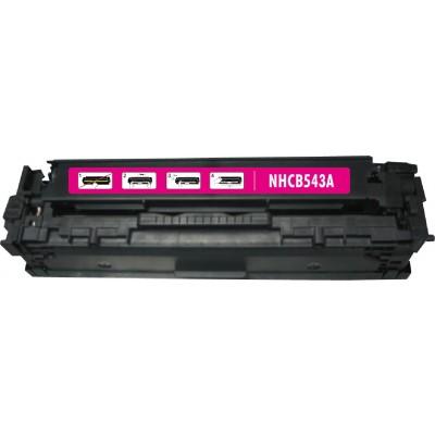 Remanufactured HP CB543A (HP 125A) magenta laser toner cartridge